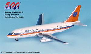 Hapaq Lloyd 737 200 1 500 Inflight 500 Scale Diecast