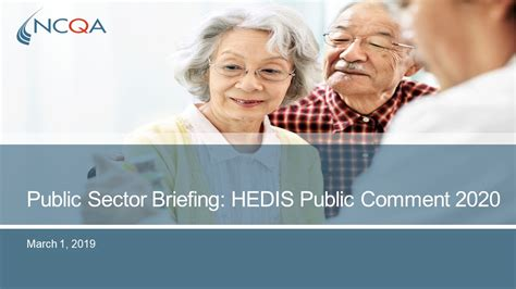 The most common reason for this is buying another health. NCQA Public Sector Briefing: HEDIS 2020 Proposed Changes