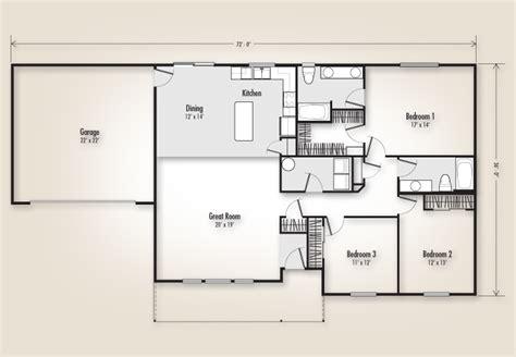 adair homes floor plans the odell 1736 home plan adair homes