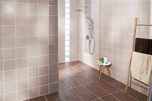 Carrelages Salle De Bain : comment poser un carrelage mural dans une salle de bains ~ Melissatoandfro.com Idées de Décoration