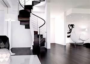 Escalier En Colimaçon : escalier en colima on tendance moderne et gain d 39 espace ~ Mglfilm.com Idées de Décoration