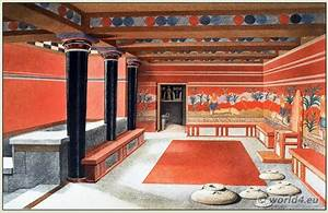 Ancient Minoan Costume. The Palace of Minos at Knossos.