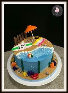 Beach Themed Cake - CakeCentral com