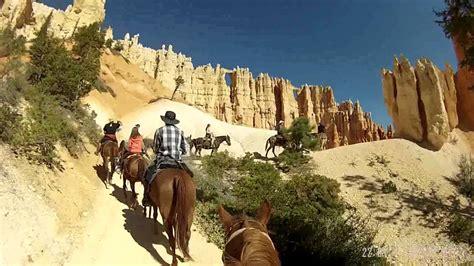 riding bryce canyon park national horseback