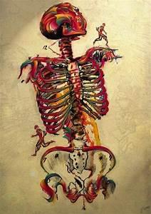 Skeleton Art | Cool portraits | Pinterest
