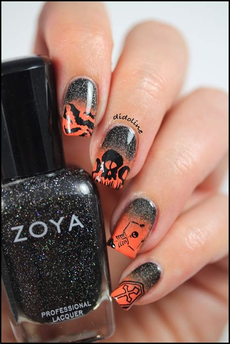 les ongles infernaux halloween nails