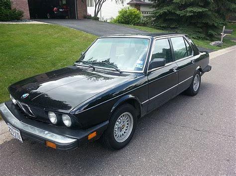 1986 Bmw 535i by 1986 Bmw 535i For Sale St Paul Minnesota