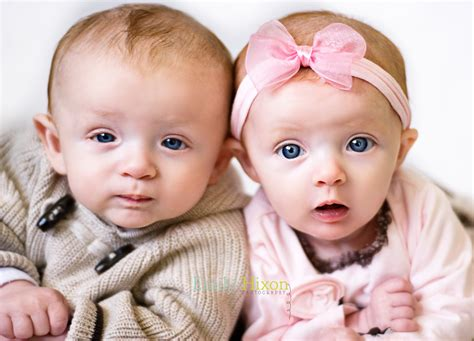 cute twin baby images