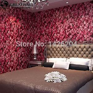 Aliexpress.com : Buy Great wall Embossed with gold rose ...