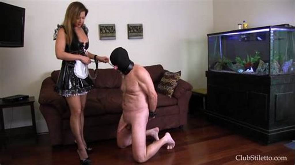 #Miss #Jasmine #In #The #Maid #Busted #His #Balls