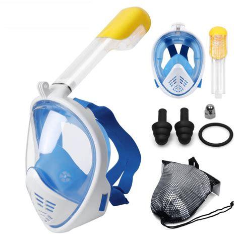 scuba diving mask full face snorkeling mask underwater