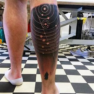 40 Solar System Tattoo Designs For Men - Astronomy Ink