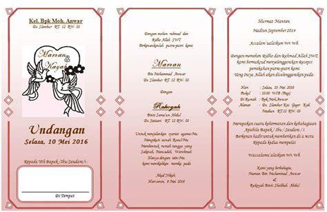 contoh undangan pernikan  kata kata undangan assalam