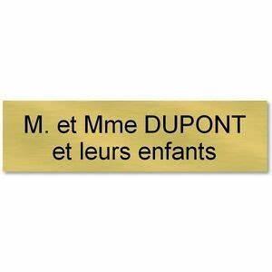 Etiquette Boite Au Lettre : plaque etiquette autocollante boite aux lettres ~ Farleysfitness.com Idées de Décoration