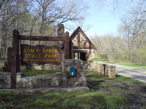 sam a baker cabins sam a baker state park patterson mo 4 12 2013 cing