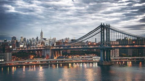 manhattan bridge wallpapers images  pictures backgrounds