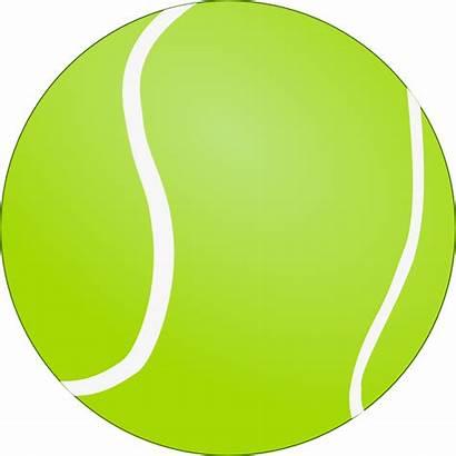 Ball Tennis Bola Tenis Clip Onlinelabels Svg