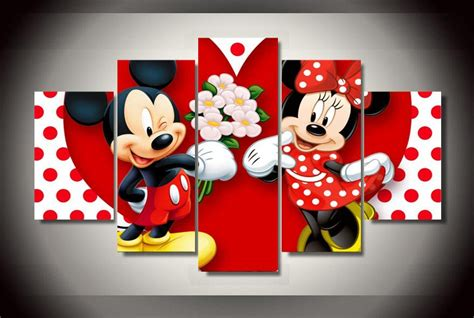 decoration mickey chambre compare prices on minnie mickey pictures shopping