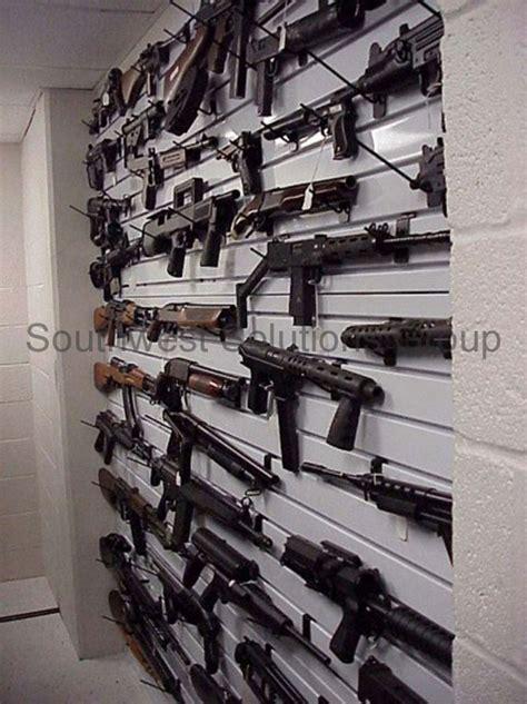 evidence weapon storage