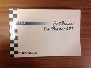 2004 Chevrolet Trailblazer Owners Manual