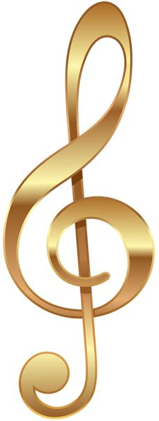 gold treble clef transparent png image gallery yopriceville high