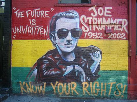 Joe Strummer Mural by 301 Moved Permanently
