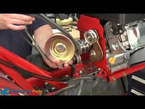 How To Replace The Transmission Pulley On A Troy