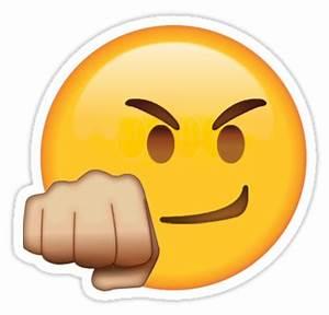 """Fist Bump Secret Emoji funny internet meme"" Stickers by"