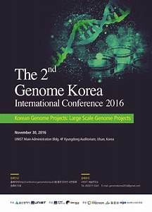 UNIST to Host the Annual Meeting of Genome Korea ...