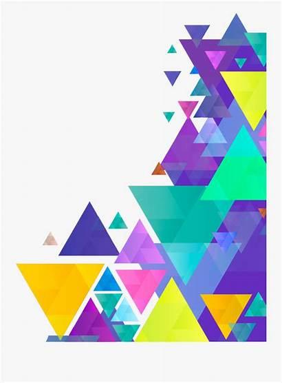 Geometric Border Shape Transparent Clipart Clipartkey