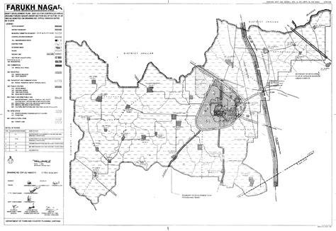 farukh nagar master plan  map draft