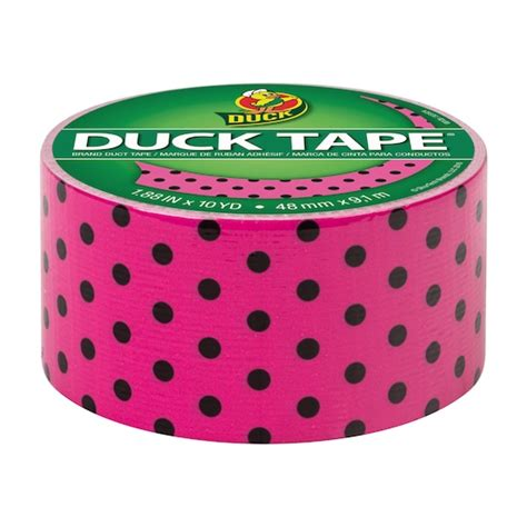 find the printed duck brand duct polka dots at