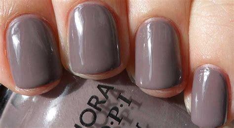 Grey Nail Polish- Matte, Opi, Dark, Light, Essie, Blue