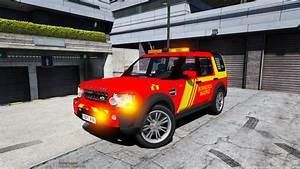 Land Rover Bomberos De Madrid