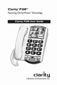 Clarity P300 User Guide