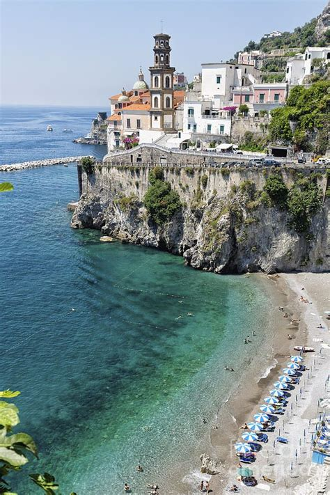 My Heart Aches When I Think Of Home Beach At The Amalfi