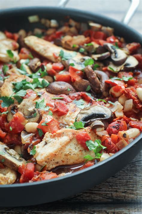 skillet chicken recipes tuscan chicken skillet the wanderlust kitchen