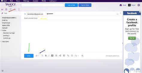 Jenis Map Buat Lamar Kerja by Cara Mengirim Lamaran Kerja Lewat Email Yahoo Dan Gmail