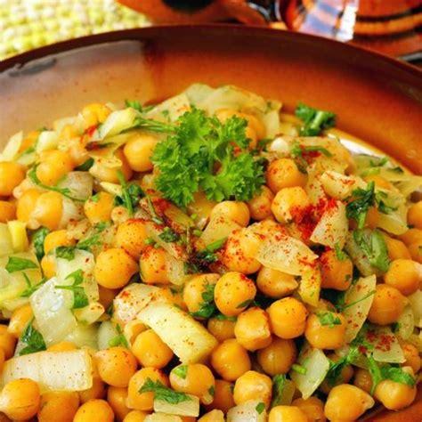 cuisine pois chiche recette salade de pois chiches simple