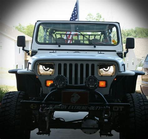 jeep angry headlights pin yj angry eyes jeep wrangler forum on pinterest