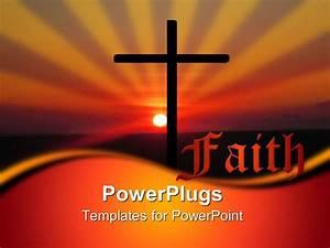 powerpoint template christian religious faith metaphor With faith powerpoint templates free