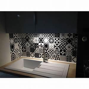 Adhesif Carreau De Ciment : carrelage adh sif vintage bilbao patchwork smart tiles ~ Premium-room.com Idées de Décoration