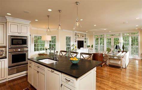 kitchen family room ideas open concept kitchen pros cons and how to do it right