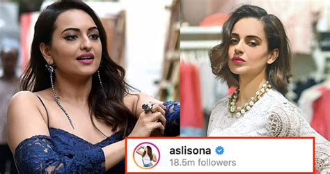 Sonakshi Sinha Takes A Dig At Kangana Ranaut And Her ...