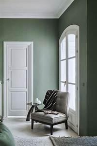 Peinture Vert De Gris : peinture vert de gris une couleur tendance pour sublimer ~ Melissatoandfro.com Idées de Décoration