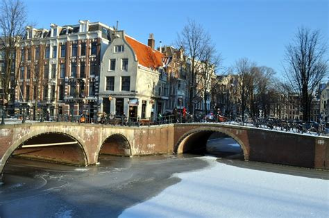 Snow In Amsterdam Amsterdamian