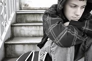 boy teen sad
