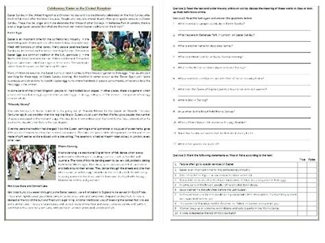 daily reading comprehension grade 1 short worksheets 7