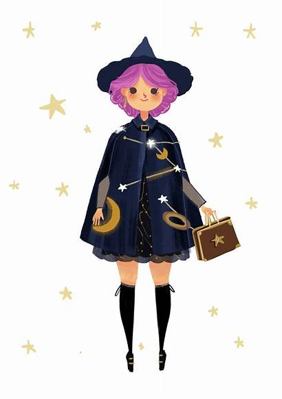 Witch Character Cool Drawings Witches Pretty Been