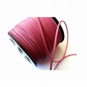 Vieux Rose Couleur : su dine effet cuir 5 m tres cordons 3mm 3mm couleur ~ Zukunftsfamilie.com Idées de Décoration